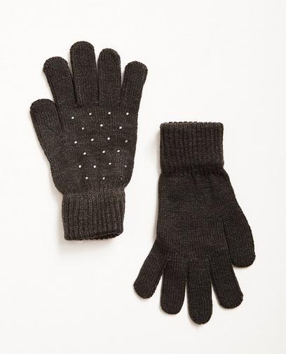 Handschuhe mit Strass